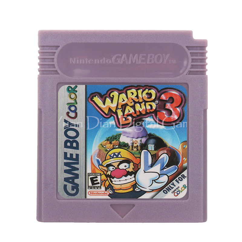 For Nintendo GBC Video Game Cartridge Console Card Wari Land 3 English Language Version