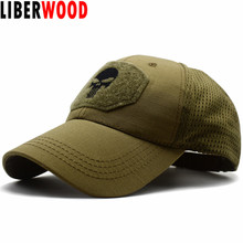 Cap Snapback Hat Multicam Navy Seal Relaxed-Fit Skull Special-Forces LIBERWOOD Unisex