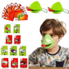 Funny Family Interactive Catch Bug Tic Tac Tongue Game Desktop Board Game Lizard Tongue Eating Pest Game Novel Toys for Kids