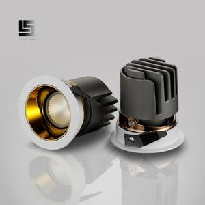 Image 3 - LED ดาวน์ไลท์ 7 W 9 W 15 W/Chrome/Rose ทอง/กาแฟ/สีดำ LED Spot แสง Foyer ห้องครัวในร่ม LED เพดาน