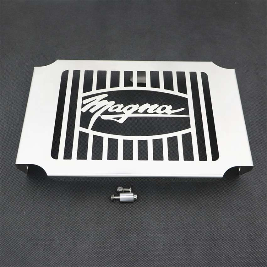 Radiator Grille Guard Protector Cover For Honda Magna VF750 1994-2003 02 Chrome