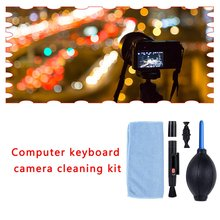Camera Cleaning Set Cleaning Pen + Air Blow + Cloth Cleaning Tool Cleaning Kit Digital Camera Cleaning Kit Set