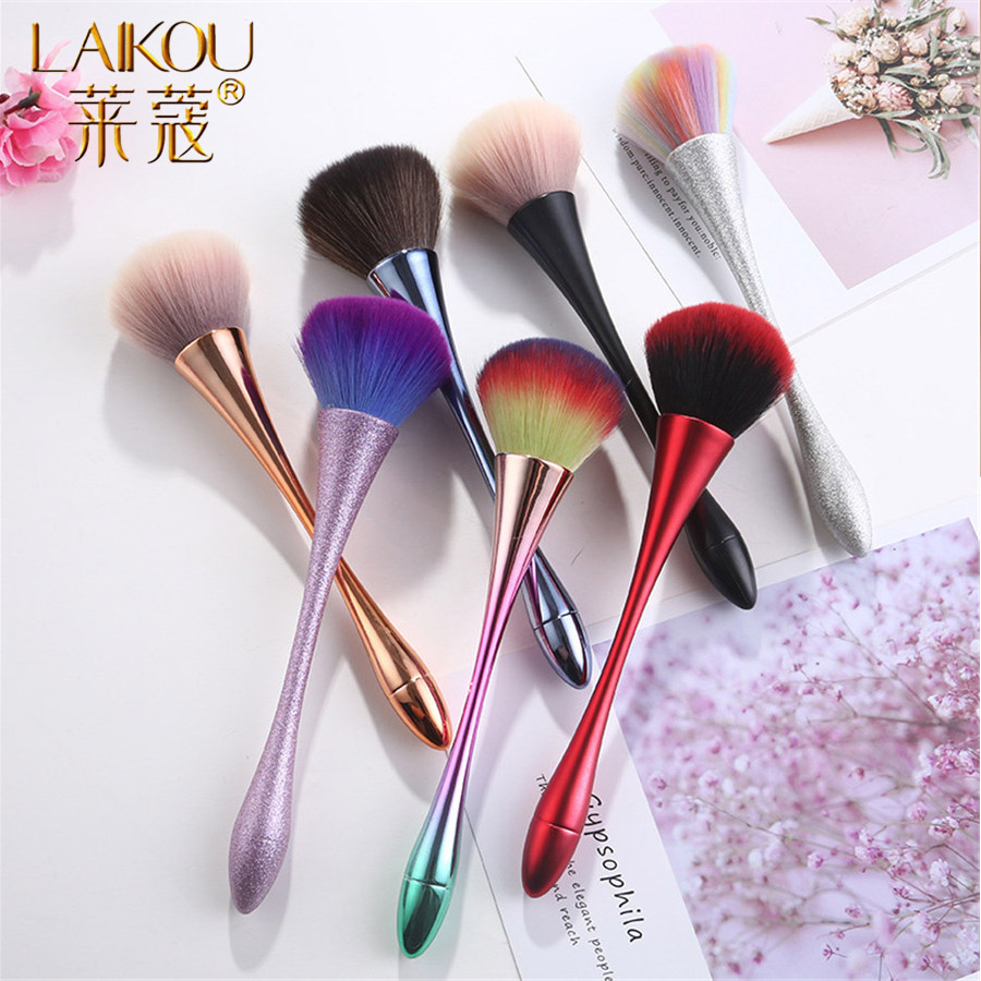LAIKOU Makeup Brushes For Makeup Blush Foundation Brush For Face High Quality Makeup Lip Brushes Tool Beauty Essential Cosmetics