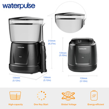 Waterpulse V700 and V400 9pcs Jet Tips Water Power Flosser 1000ml Capacity Oral Irrigator Traveler Portable Dental Oral Flosser 1000ml water tank capacity 360 degree cleaning of oral cavity water flosser oral irrigator