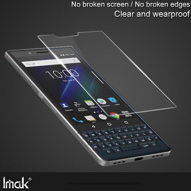 Imak שקוף רך פיצוץ הוכחה משטח מגן סרט עבור BlackBerry Key2 / Key2 LE / Keyone DTEK70 מסך מגן