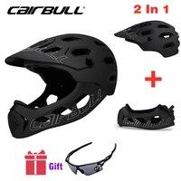 Cairbull Mountain Bike Helmet Adult Full Covered Downhill  Full Face Helmet OFF ROAD MTB Road Bicycle Helmet Cycling Helmet BMX|Bicycle Helmet| |  -