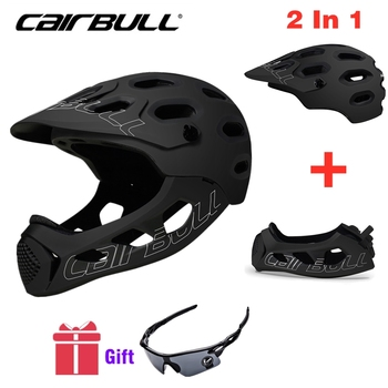 Cairbull Mountain Bike Helmet Adult Full Covered Downhill  Full Face Helmet OFF-ROAD MTB Road Bicycle Helmet Cycling Helmet BMX