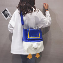 Cartoon Girl Canvas Bags for Women 2020 New Large-capacity Crossbody Bag Japanese Female Ins Big Shoulder Bag Tide Fashion(China)