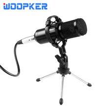 Profissional bm 800 kit microfone condensador para computador com tripé e montagem de choque bm800 mic kits