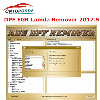 Professional DPF EGR Remover 3.0 Lambda Remover Full 2017.5 Version Software + Unlock keygen with install video for kess ktag image
