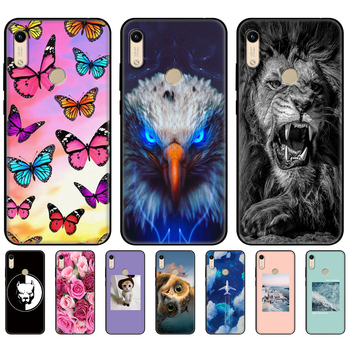 For Honor 8A Case For huawei Honor 8A prime Case Silicon TPU back Cover Phone Case On Huawei Honor 8A JAT-LX1 8 A black tpu case