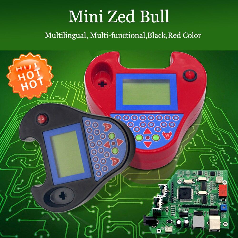 OkeyTech Zed Bull Transponder Chip Cloner ID46 for Nissan Universal Auto Car Key Programmer Key Finder Smart Mini Zedbull V508