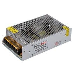 AC110 220V 5V 12A 60W LED Strip podświetlany adapter do zasilacza|Taśmy i listwy LED|   -