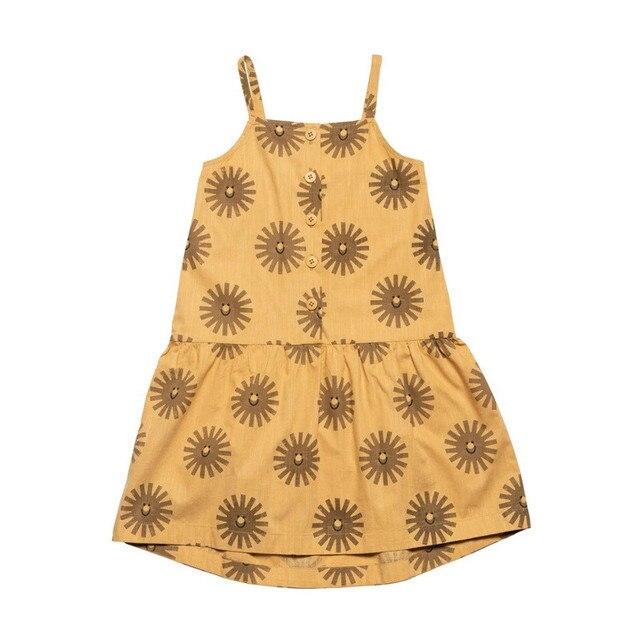20 ans nouvelle jupe dété filles robe à manches courtes mode imprimer hors épaule jupe fronde vêtements pour enfants