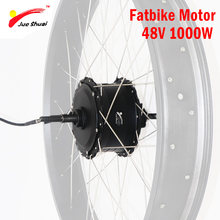 Electric Bike Kit 48V 1000W Brushless Hub Motor for 4.0 Fatbike Wheel Motor Electric Conversion Kit for 20-29in Rear Hub Motor(China)