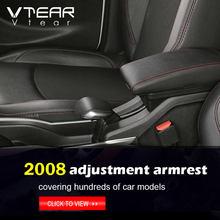 Dla Peugeot 2008 301 c Elysee podłokietnik wnętrze skórzany podłokietnik USB samochód stylizacji pudełko do przechowywania samochód konsola środkowa części akcesoria