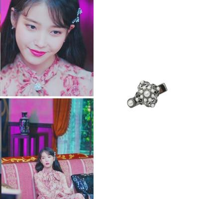 hair clip DEL LUNA Hotel same Female Girl Korean Fairy Sennu Series Fashion Hair Pin Clips Hairpin pearl IU tv dreama