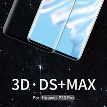 NILLKIN 3D DS MAX Protezione Dello schermo di protezione Per Huawei Compagno di 20 Pro In Vetro Per Huawei P30 Pro Temperato di Vetro 9H di Sicurezza 6.39/6.2