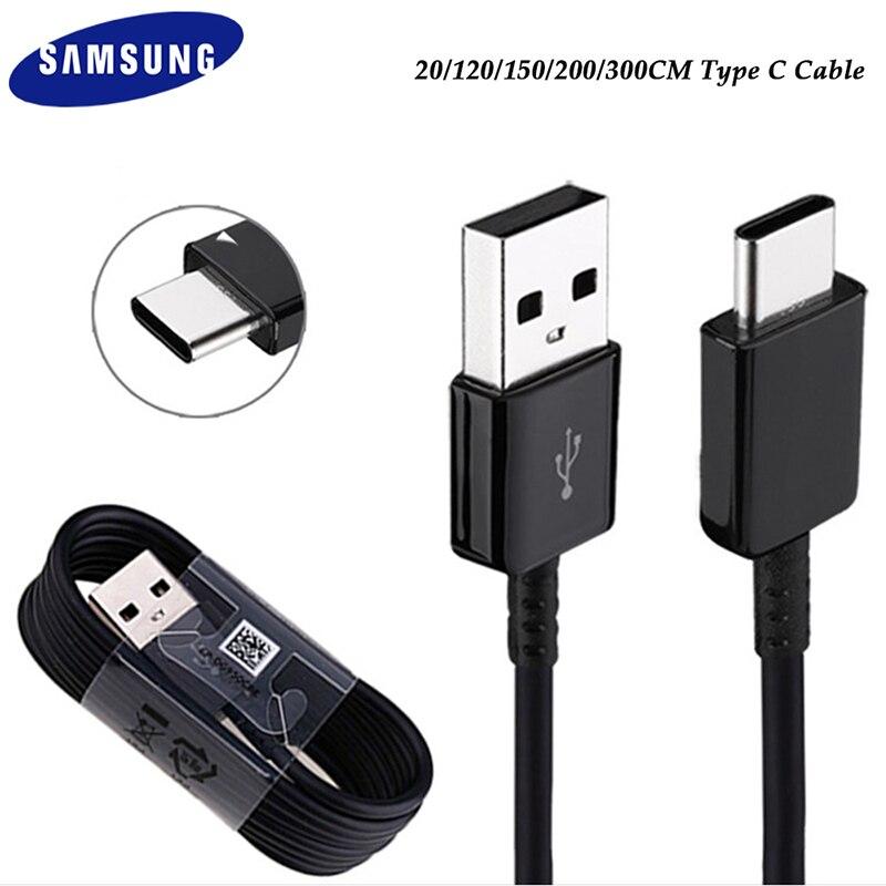 Оригинальный USB кабель типа C для Samsung S21, S20, Ultra FE, S10, S9, S8 Plus, M51, A90, A50, A80, A71, быстрая зарядка, 2 А, линия передачи данных|Кабели для мобильных телефонов|   | АлиЭкспресс