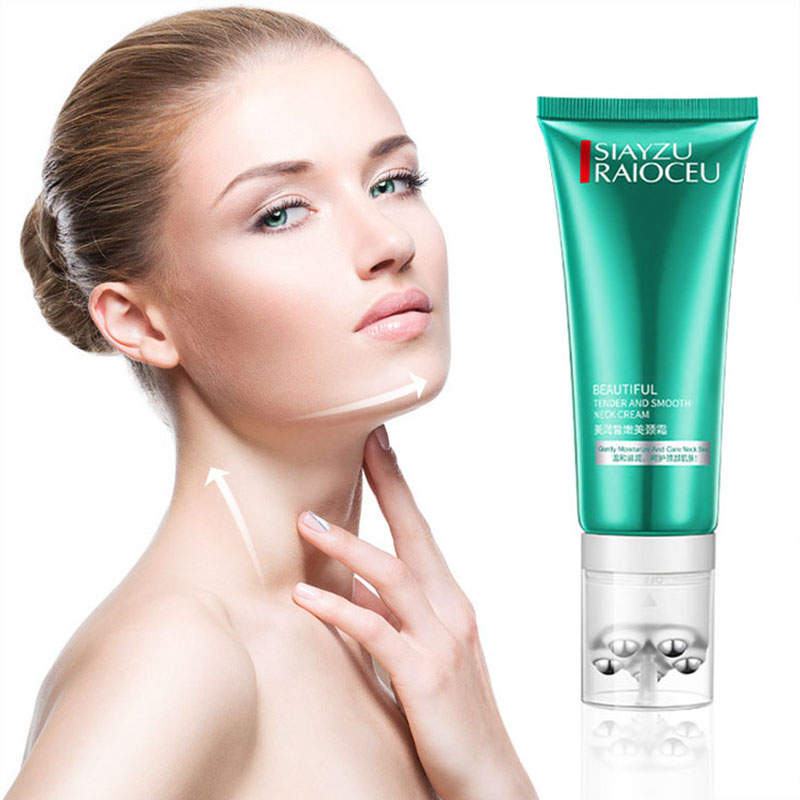 100g Moisturizing Neck Cream Roll-ball Massage Gentle Absorption Anti-wrinkle Restore Elasticity And Smooth Skin Neck Care