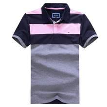 Moda nova home polo eden-parque estiramento algodão anti-pilling eden polo masculino verão boa qualidade bordado logotipo mais tamanho 3xl