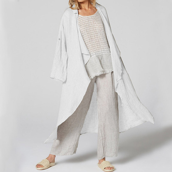 Vintage Women Kimono 5XL Celmia  Casual Long Sleeve Blouses Female Loose Beach Long Cardigan Solid Autumn Shirts Plus Size Tops 10