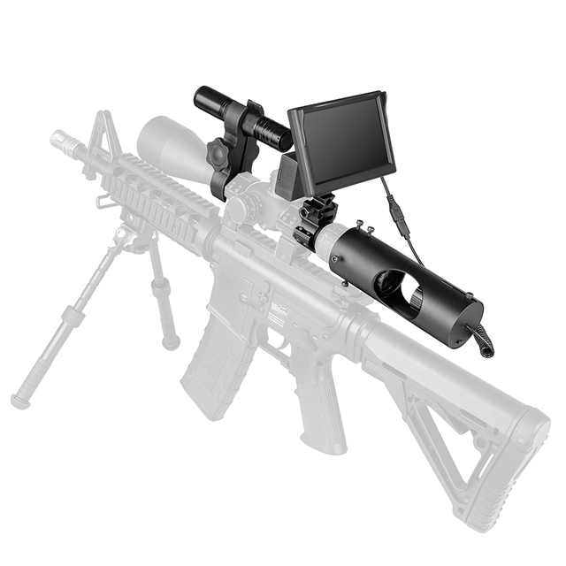 850nm Infrared LED IR Night Vision Riflescope Hunting Scopes Optics Sight Waterproof Hunting Camera Hunting Wildlife Night Visi 2