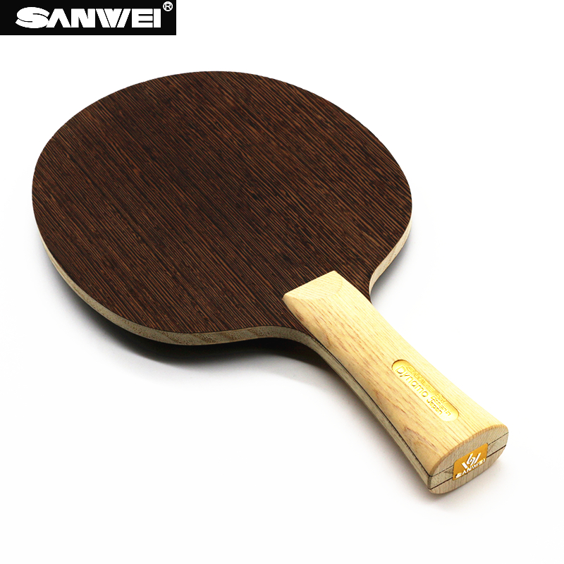 SANWEI DYNAMO Table Tennis Blade 5 Ply Wood Design Japan Cypress Handle Light Quick Attack Ping Pong Racket Bat Paddle