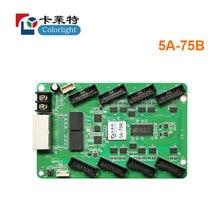 كولورليت متزامن استقبال بطاقة 5a 75b استخدام ل led كامل اللون عرض جهاز تحكم بالشاشة بطاقة