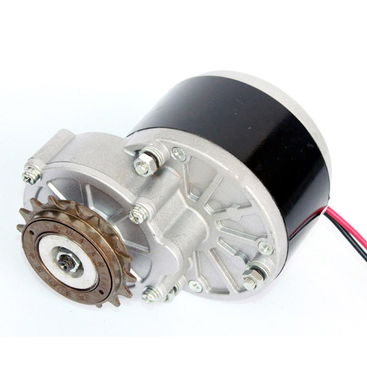 24V Ordinary Bicycle Mountain Speed Change Car Modification Kit MY1016Z2 Left Flywheel Kit Upgrade With Iron Rubber