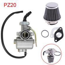 20mm PZ20 Carburetor Carb Kit for 50cc 70cc 90cc 100cc 110cc ATV Replaces Pack