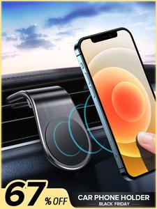 Car-Phone-Holder Magnet-Mount Gps-Support Air-Vent iPhone 12 Mini Samsung 7-Xiaomi GETIHU