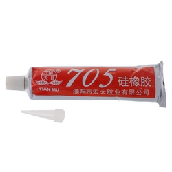 New 705 Silicone Clear Sealing Glue Waterproof Heat Resist For Electron Component Hardware