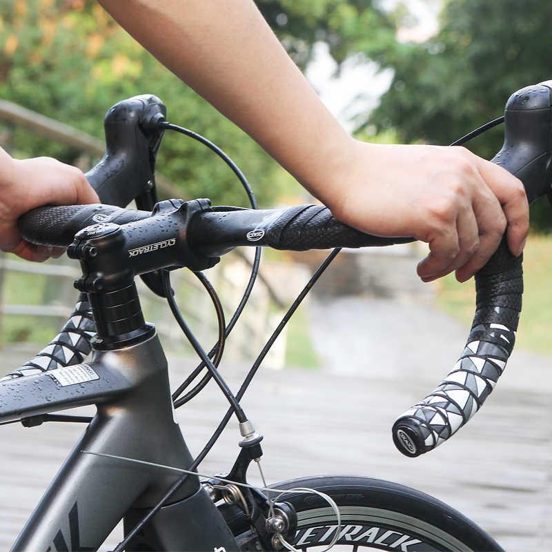 Drfeify Cinta Antideslizante del Manillar de la Bicicleta Cinta de Carretera Curva de la Bicicleta Manillar de Amortiguaci/ón Correas de Fijaci/ón Accesorio