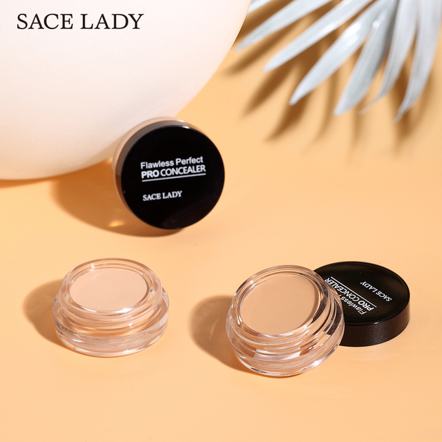 SACE LADY 6 color Full Cover base Make Up primer waterproof concealer palette maquillag Eye Dark Circles Cream Face Corrector 5