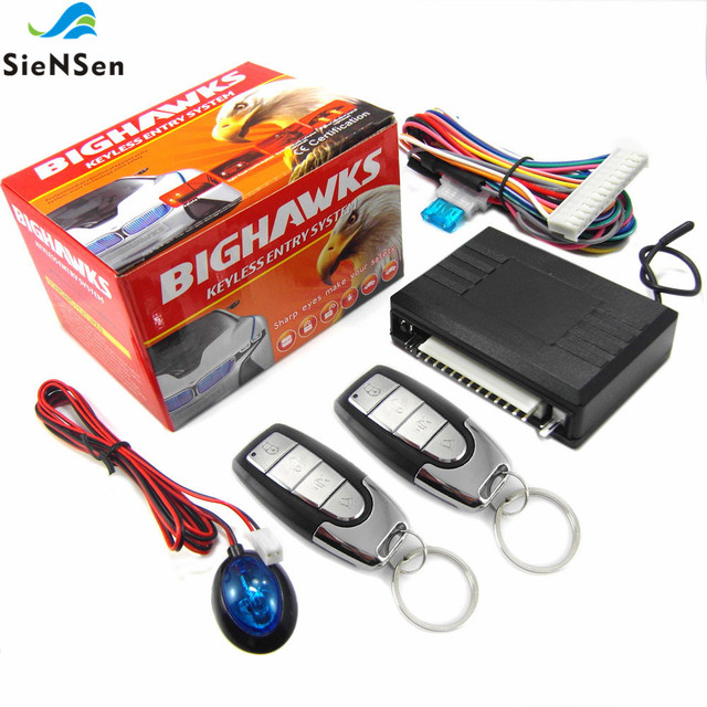SieNSen 車の警報システム自動遠隔中央ロックキットロックキーレスエントリーシステム M604 8115