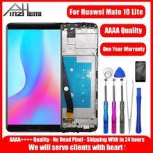 REPUESTO digitalizador de pantalla táctil para Huawei nova 2i LCDS pantalla Original LCD para Huawei Mate 10 Lite
