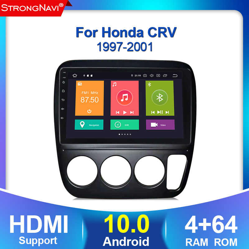 4G + 64G Android 10 4G auto Radio Multimedia reproductor de Audio 2 Din para Honda CRV CR-V 3 1997-2001 con WIFI BT GPS navegación carplay