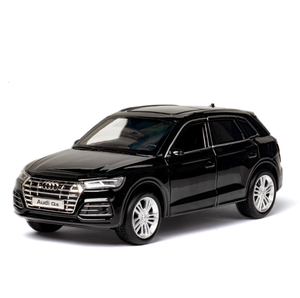 Image 4 - Diecast Toy Model 1:32 Scale New Audi Q5 Sport SUV Car With Pull Back Sound Light Children Gift Collection Free Shipping