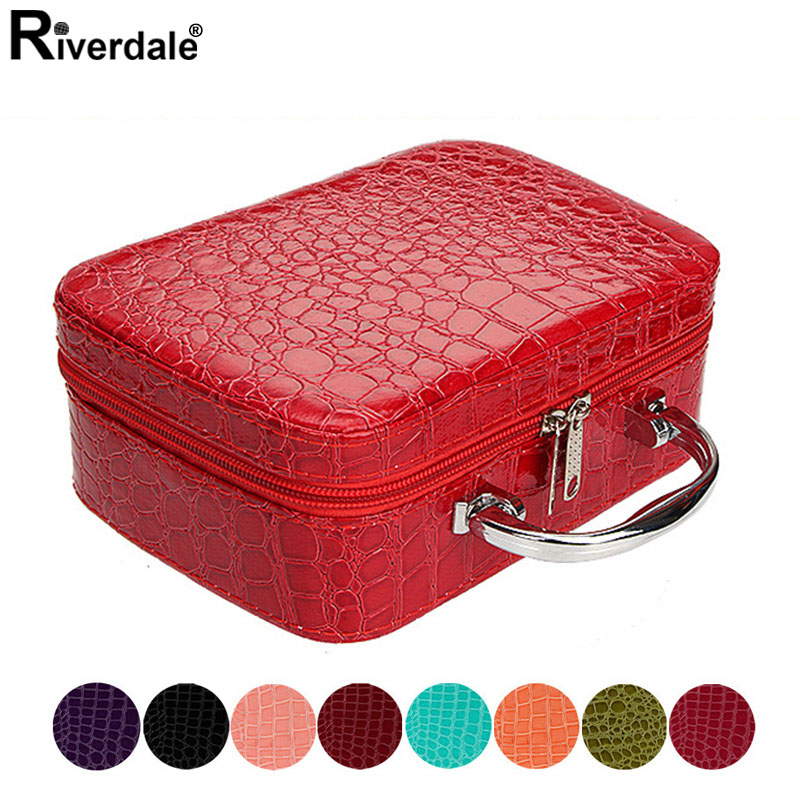 Women Beauticians Makeup Case Cosmetic Bag High Quality Travel Organizer Beauty Box Cosmetics Jewelry Toolbox 2020 Holiday Gifts