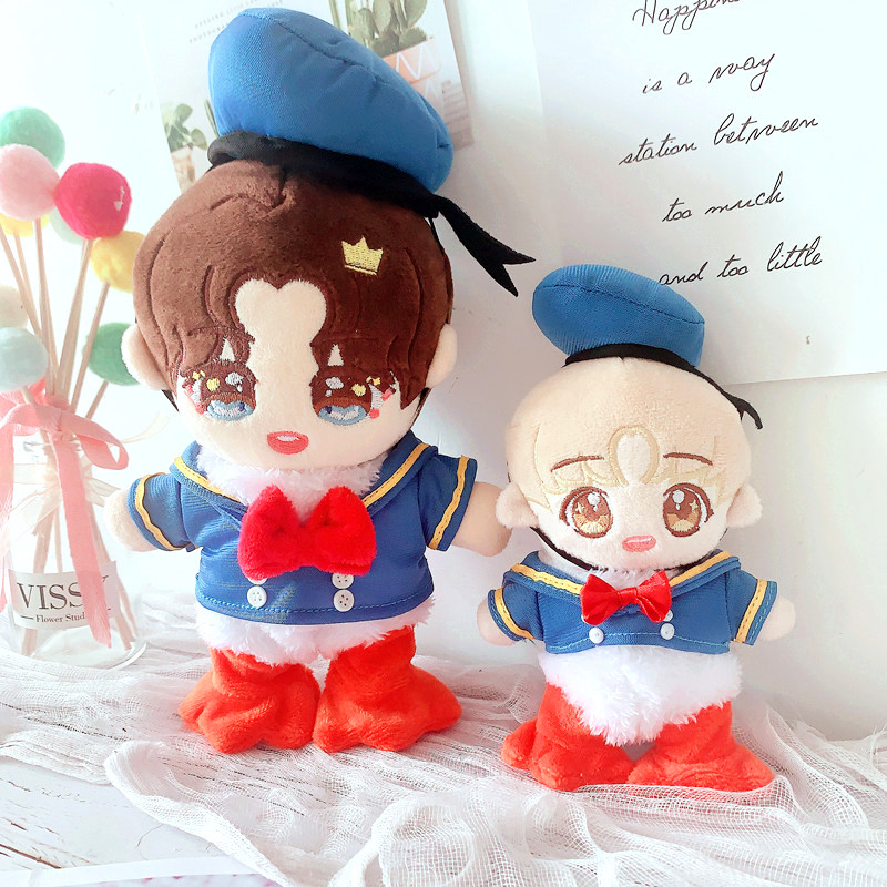 [MYKPOP]KPOP Dolls & Accessories: Lovely Duck Clothes Set for 20cm 15cm (without Doll) KPOP Fans Collection SA20062503(China)