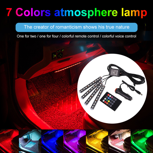 Atmosphere Mood Light Rgb Remote App Auto Foot Decorative Lamp 1