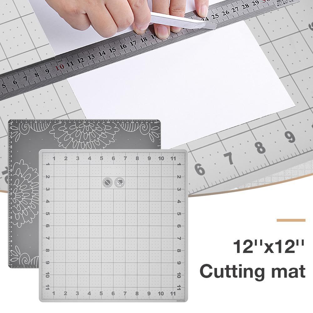 Cutting Mat Lightweight Cutting Cushion Grid Lines Craft Card Fabric Leather Paper Board Handmade DIY Accessory Cutting Plate
