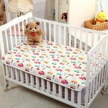 78*120 см пеленальный коврик для малышей мультяшный хлопок водонепроницаемый