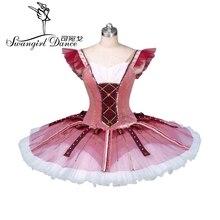 Don Quixote ballet tutu red professonal tutus for children nutcracker stage costumes pancakeBT9123