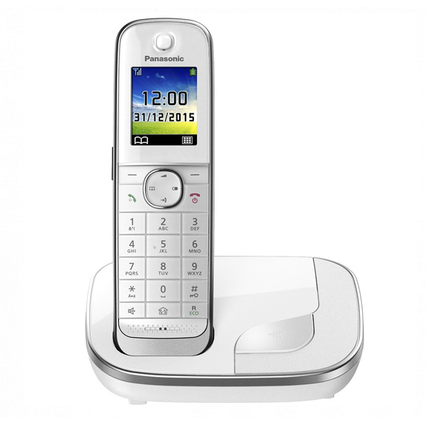 Беспроводной телефона Panasonic Corp. KX-TGJ310SPW DECT 1,8