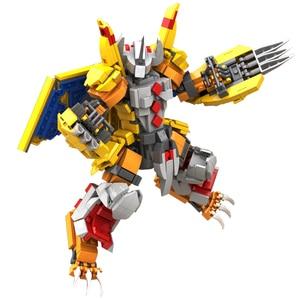 Digimon WarGreymon Building Bl