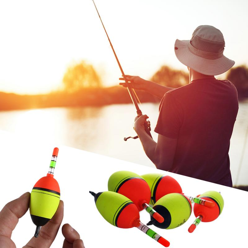 1/2/3 Pc Fishing Float Top Quality EVA Luminous Float Fish Bait Foam Can Be Equipped With A Light Stick Sea Float Low Sale 2020