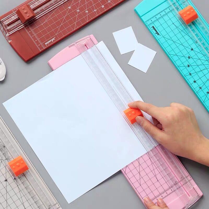 Sharkbang Desktop Photo Paper Cutter A3 A4 Manual Paper Jam Photo Film Cutting Machine Knife Blade Art Trimmer Craft Tool 1