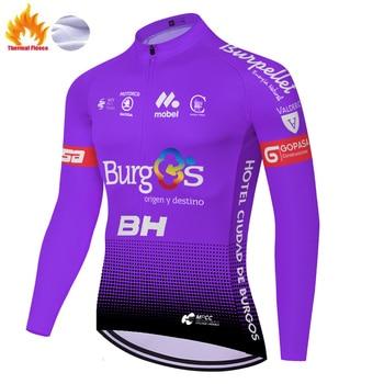 BH TEAM-maillot térmico de lana para hombre, ropa de ciclismo para invierno,...